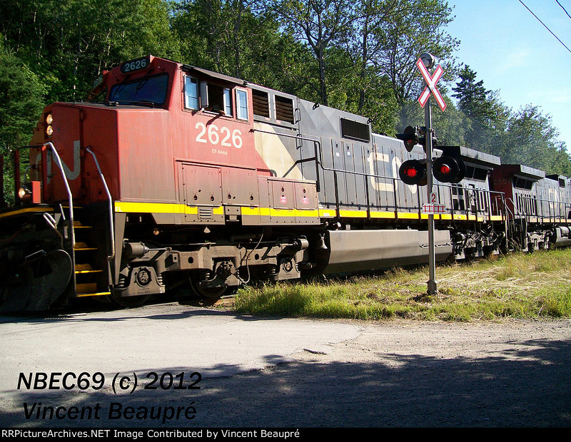 CN 2626 on the 402 East